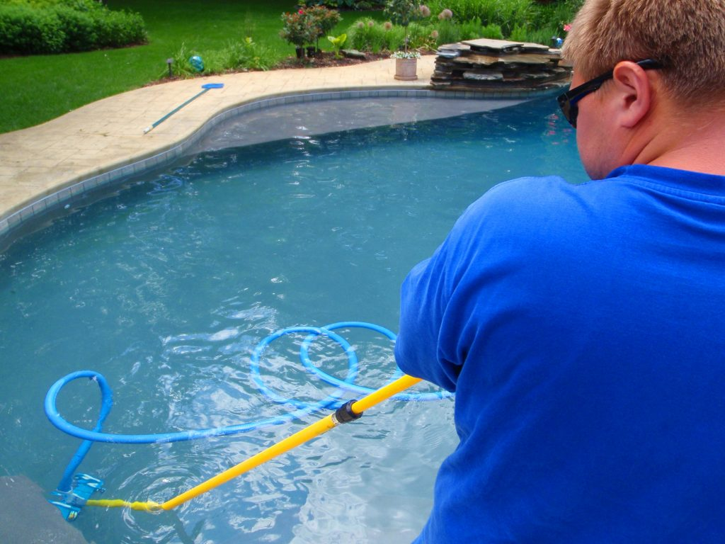 Gunite Swimming Pools Maintenance Danna Pools Inc