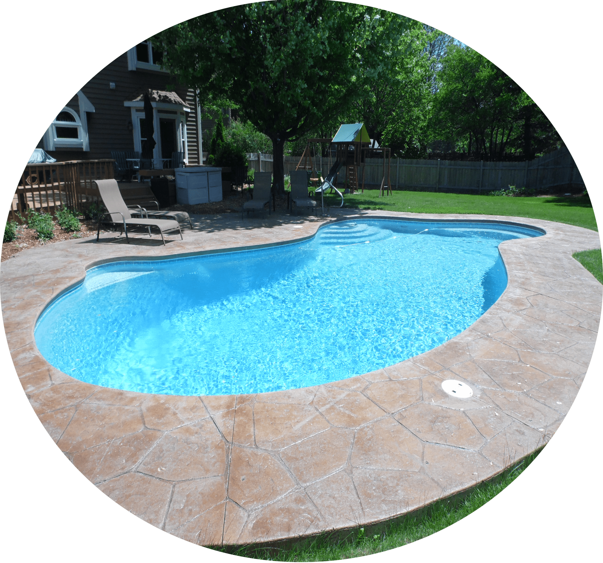 Gunite Swimming Pools And Chicago Pool Builders Danna