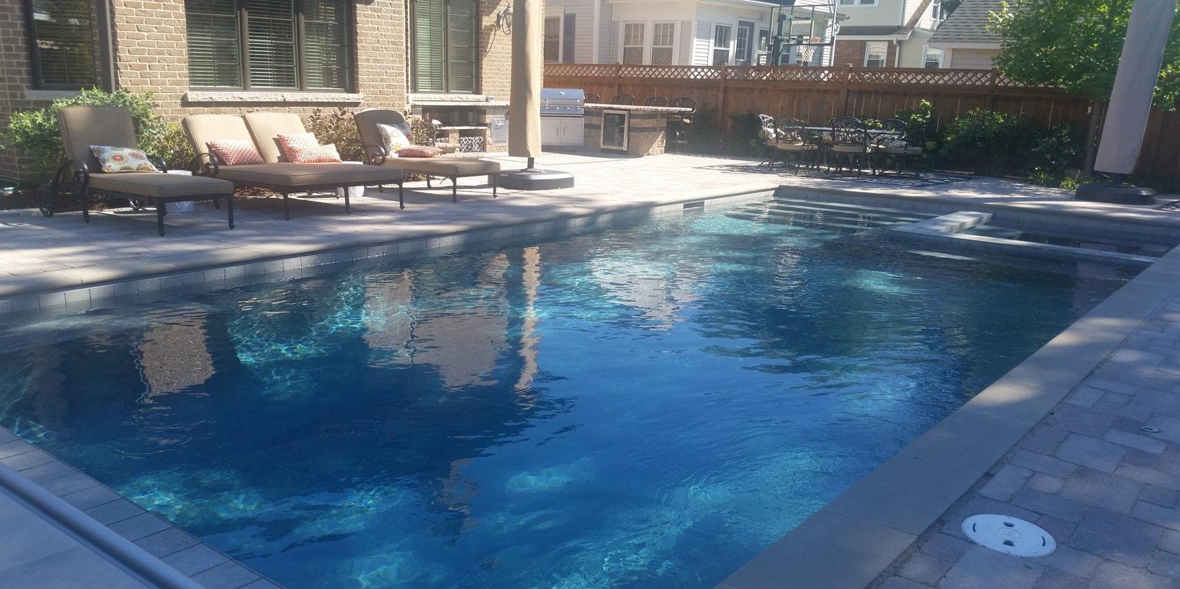 Gunite Swimming Pools Concrete Pool Builders Chicago Danna Pools