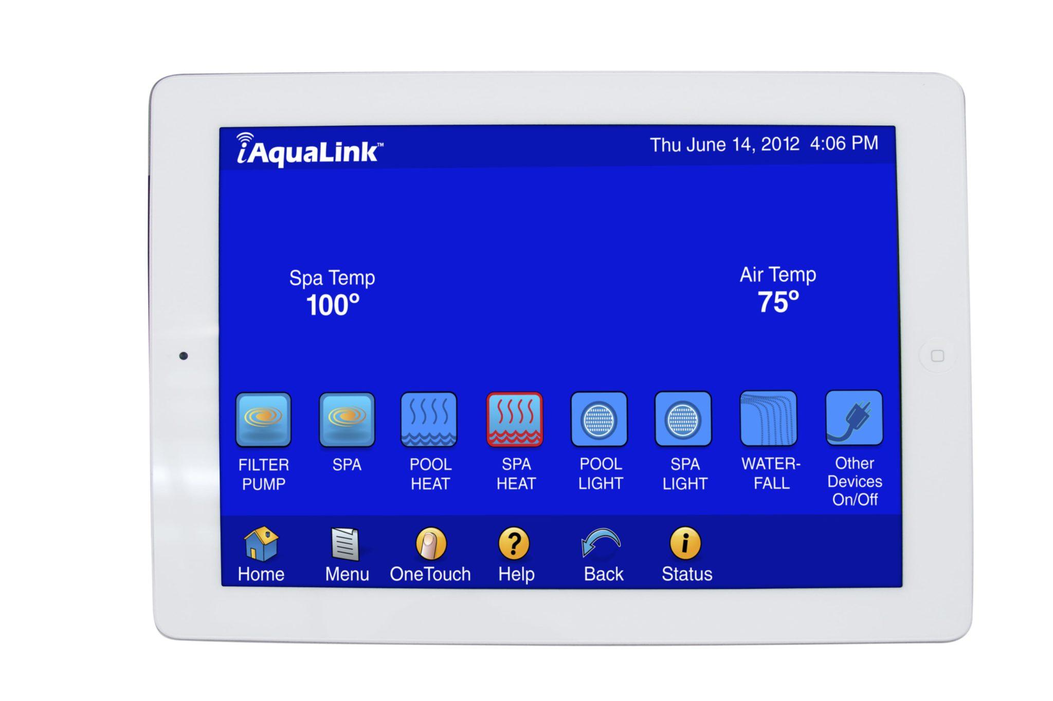 IQ900_iAquaLinkiPad 12 min swimming pool control interfaces danna pools inc jandy aqualink wiring diagram at et-consult.org