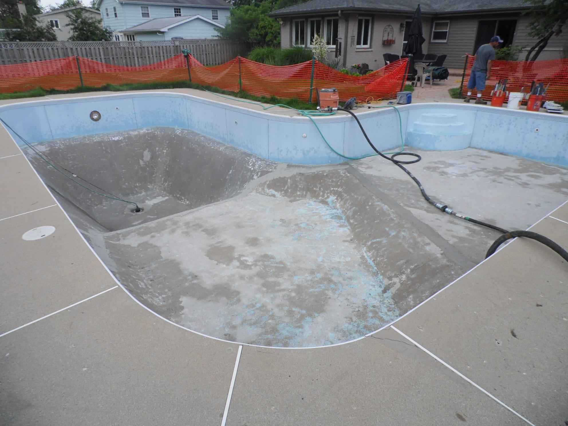 Swimming Pool Resurfacing : Swimming pool resurfacing danna pools inc
