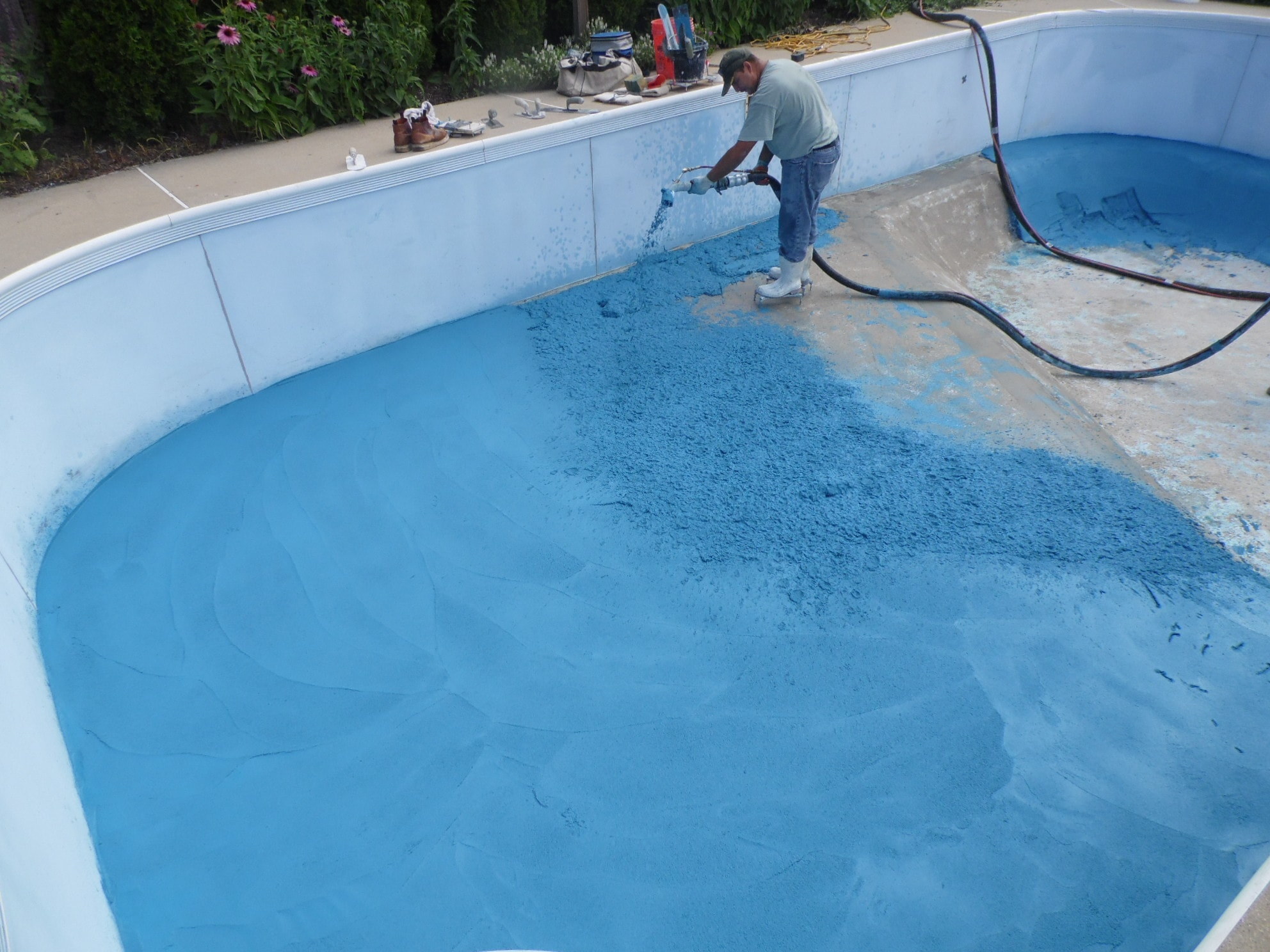 Swimming pool resurfacing danna pools inc for Swimming pool resurfacing