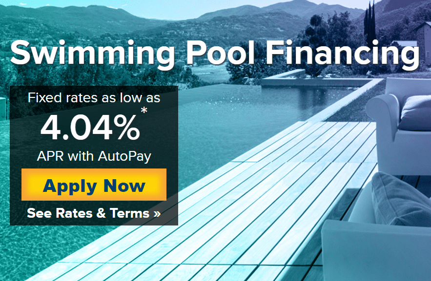 Swimming pool resurfacing danna pools inc for Pool financing