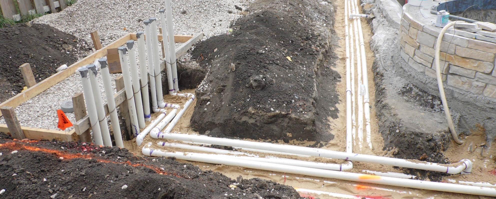 Pvc Pool Plumbing : Swimming pool plumbing and electrical danna pools inc