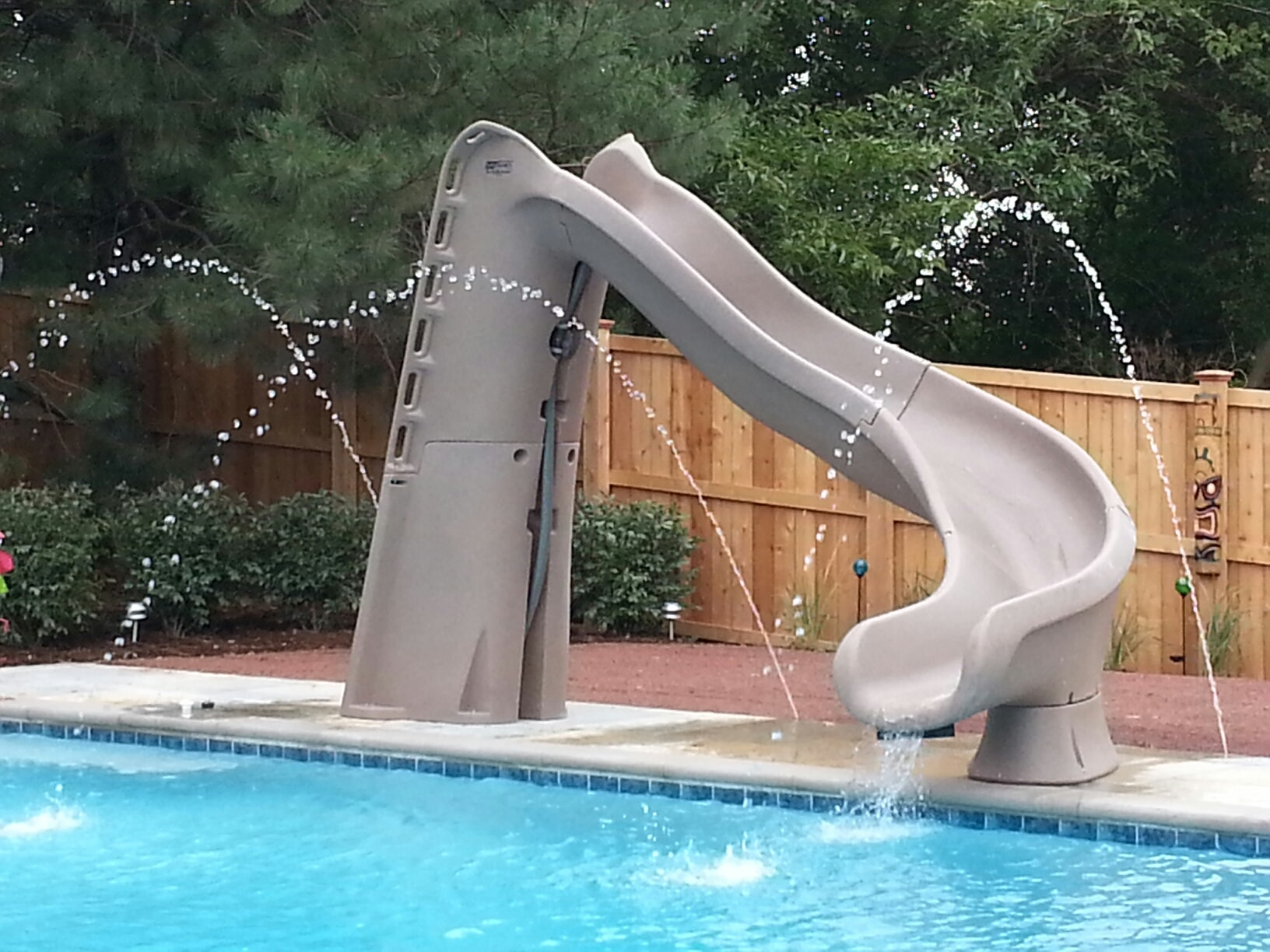 Swimming Pool Slides Danna Pools Inc
