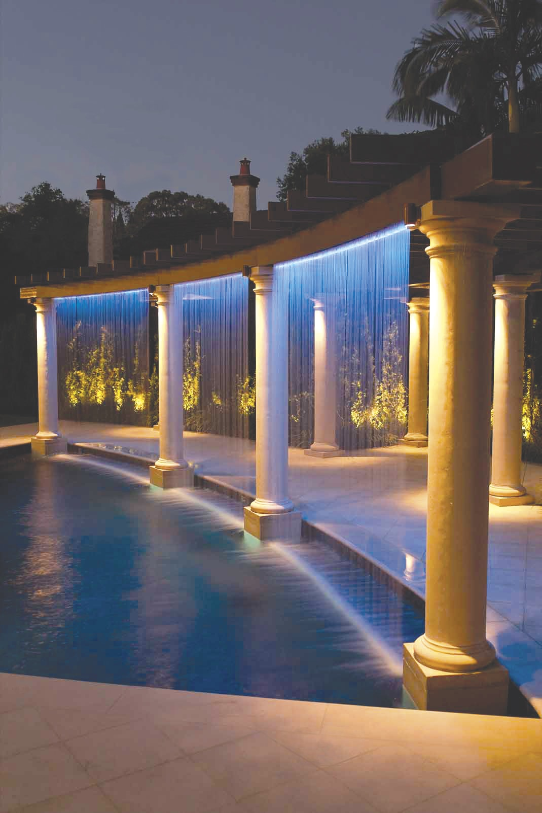 Swimming Pool Water Features Danna Pools Inc