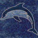 Bermuda Blue Deco 1 - 6x6