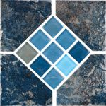 Blue Deco - 6x6