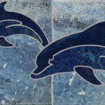 Moorea Lapis Blue Deco 2 - 6x6