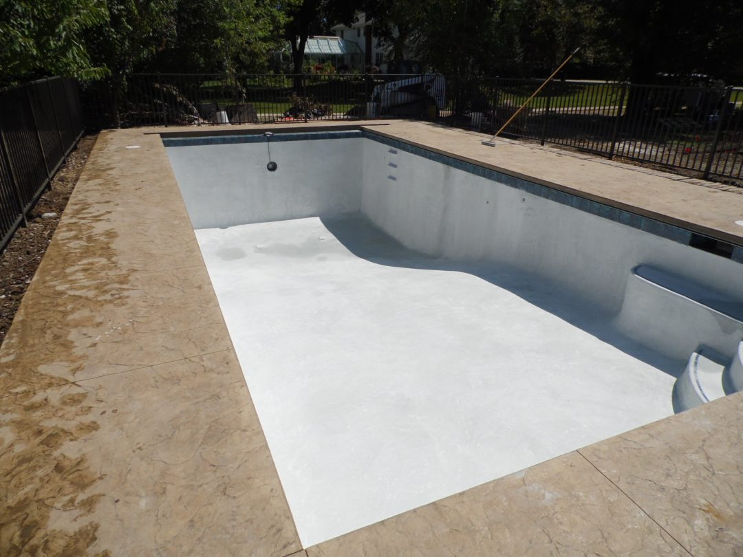 Glenview Pool Construction Job