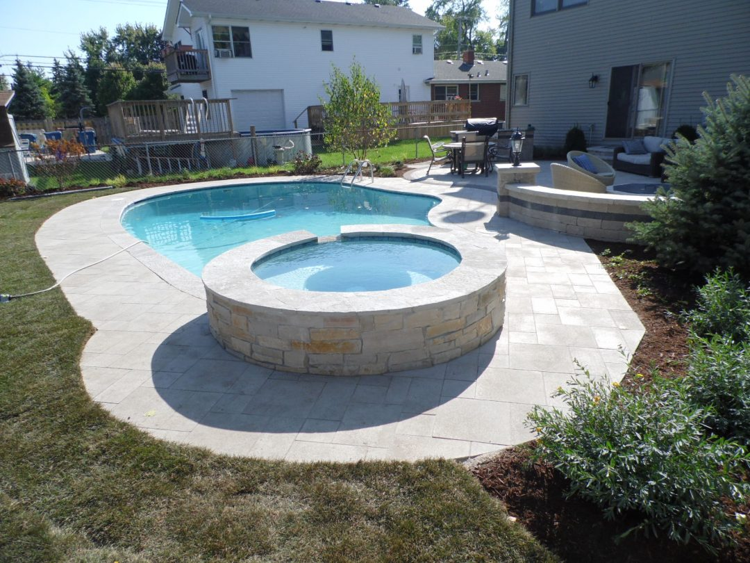 Elmhurst Pool Construction Job