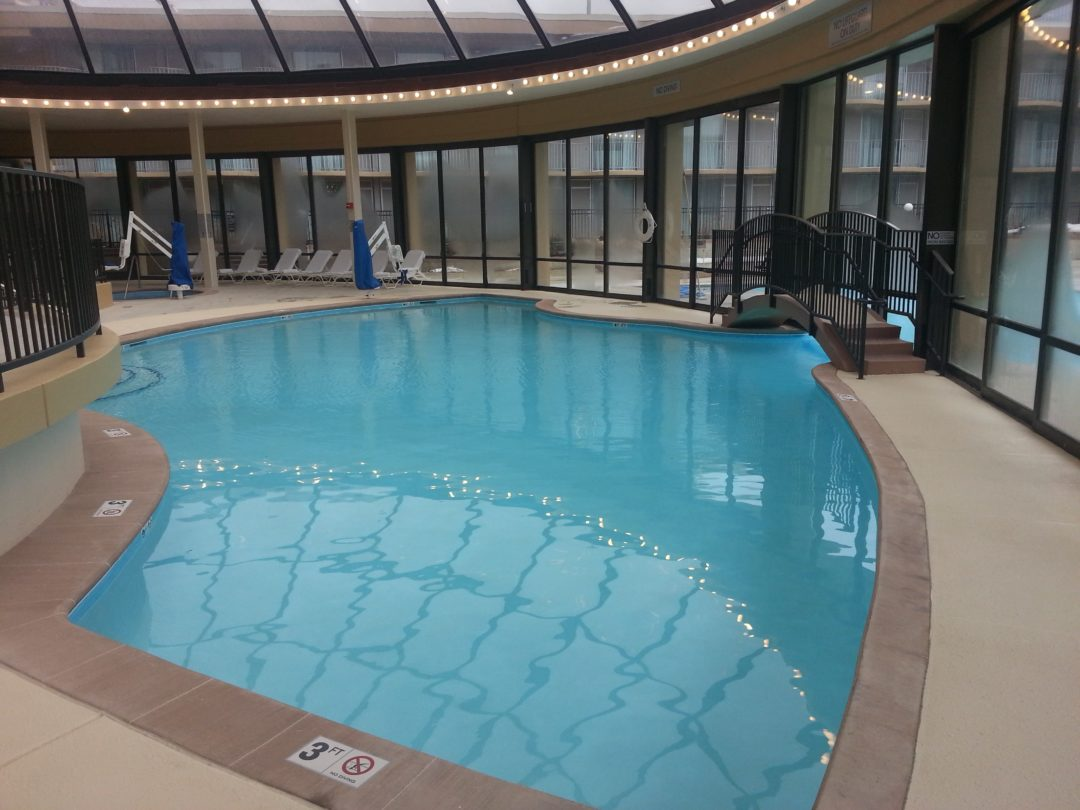 Commercial Pool Project Marriott